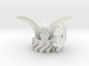 New-crank-disc315-export Ready in White Natural Versatile Plastic