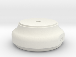 WAX Pot Lid 2 of 2 in White Natural Versatile Plastic