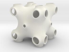 xxx periodic minimal surface in White Natural Versatile Plastic