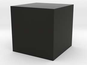 test cube in Black Strong & Flexible