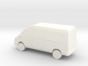Sprinter Van in White Strong & Flexible Polished