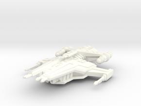 Firestar Heavy Carrier in White Processed Versatile Plastic