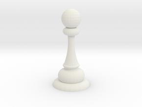 markeya pawn in White Natural Versatile Plastic
