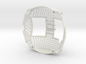 Upper Shell Lightweight ARDrone 1.0 in White Natural Versatile Plastic