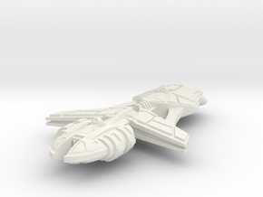 Tratha Light Cruiser in White Natural Versatile Plastic