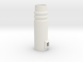 sonic aztec button in White Natural Versatile Plastic