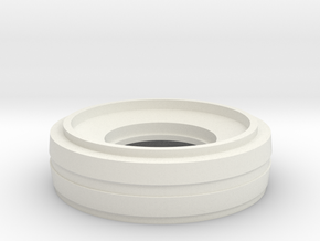 lens 2 in White Natural Versatile Plastic