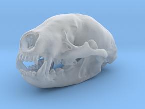 BADGER Skull Pendant in Frosted Ultra Detail