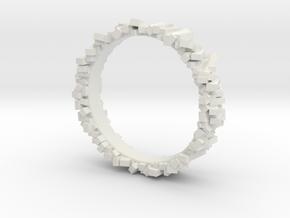 Thin Sticks in White Natural Versatile Plastic
