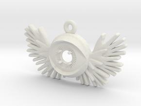 Enlightened -v1d 47mm in White Natural Versatile Plastic