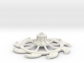 Paddlewheel Back in White Natural Versatile Plastic