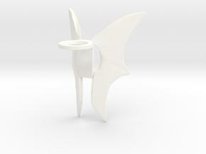 Wings (Test) in White Processed Versatile Plastic