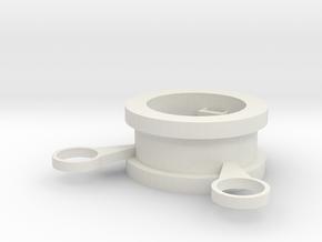 Try3 on V Baffle in White Natural Versatile Plastic