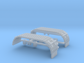 Kotflügel-doppel mit Krähenfußblech-neu -WLF  in Smooth Fine Detail Plastic