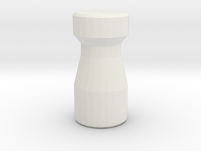 Latte Stone in White Natural Versatile Plastic