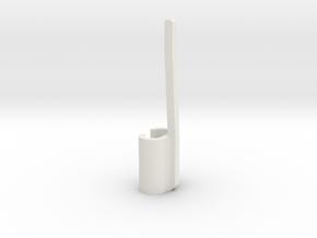 Carpenter's Pencil Clip in White Natural Versatile Plastic