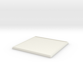 Square Model Base 60mm in White Strong & Flexible