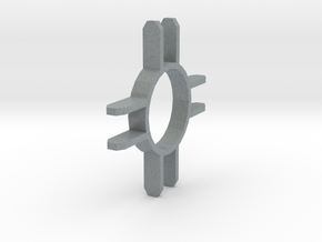 Prongs Attachment in Polished Metallic Plastic