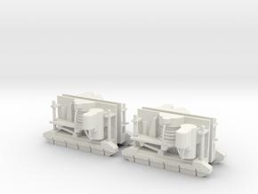 Drehgestellimitation Tatra-Tw Spur IIm/LGB in White Natural Versatile Plastic