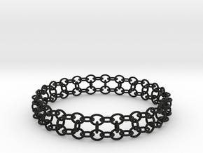 3in Yojimbo Bracelet in Black Natural Versatile Plastic