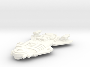 Malkorian Starship in White Strong & Flexible Polished