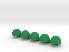 5 x Italian in Green Processed Versatile Plastic