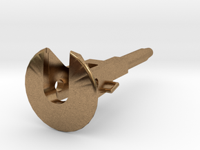 Coupler for D29 Pocket 1:64 in Natural Brass