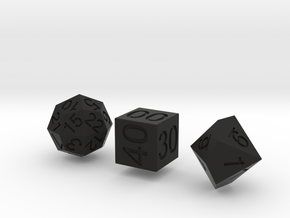 Time Dice in Black Strong & Flexible
