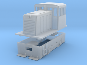 S Scale GE 25-Tonner (Work in Progress) in Smooth Fine Detail Plastic