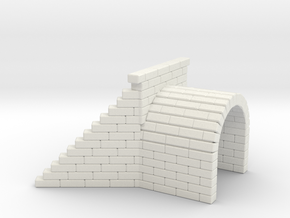 Culvert 3 - Zscale in White Natural Versatile Plastic