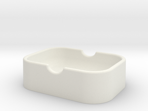jabonera base in White Natural Versatile Plastic