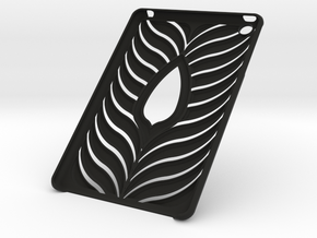 Ipad Mini Case in Black Natural Versatile Plastic