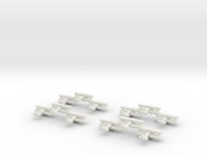 Sea Gladiator (Triplet) 1:900 x4 in White Natural Versatile Plastic