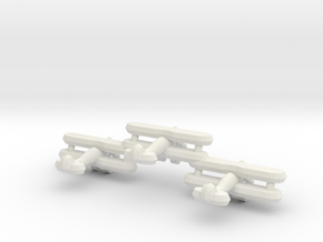 Sea Gladiator (Triplet) 1:900 in White Natural Versatile Plastic