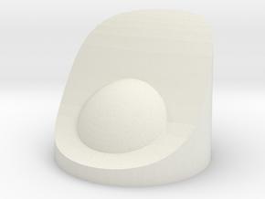 Nacelle PowerCap in White Natural Versatile Plastic