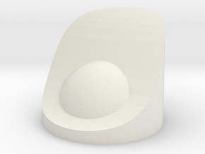 Nacelle PowerCap in White Natural Versatile Plastic