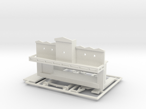 "Spiel - game ""Steamboat""-Derby 1:160 (n scale) in White Natural Versatile Plastic"