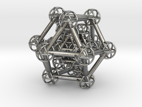 Hyper Cuboctahedron study in Natural Silver