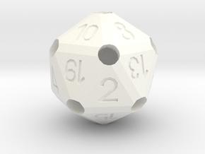 D2O_classic in White Processed Versatile Plastic