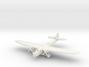 Dornier Do 23 6mm 1/285 in White Natural Versatile Plastic