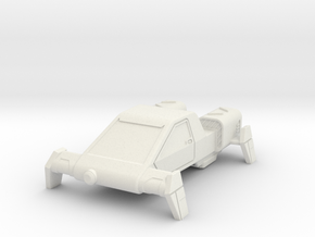 AC04 E2 Security Air Car (28mm) in White Strong & Flexible