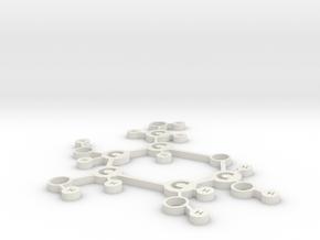Glucose nobase in White Natural Versatile Plastic