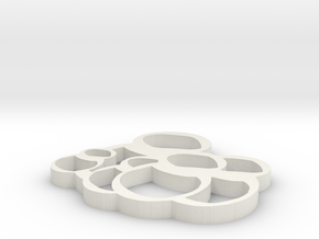 Babushkas in White Natural Versatile Plastic