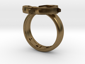 Ahoy Ring (various sizes) in Natural Bronze