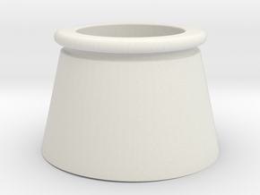 Davenport Exhaust Stack in White Natural Versatile Plastic