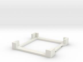 coverslipholder6forclips in White Natural Versatile Plastic