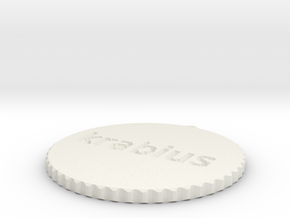 by kelecrea, engraved: krabius in White Strong & Flexible