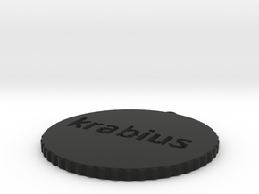 by kelecrea, engraved: krabius in Black Strong & Flexible
