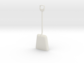 1/8 size coal shovel in White Strong & Flexible