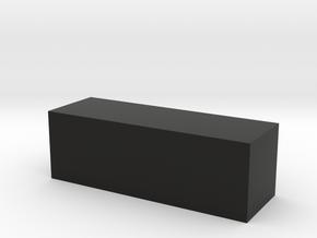 Block 4x4x12 in Black Strong & Flexible